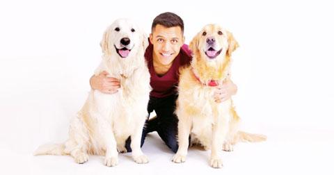 Hai cún cưng của Sanchez